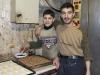 Aleppo, wizyta w piekarni.