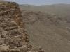 Widok z gór nad Persepolis.