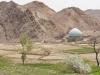 Kharanaq. Widok na meczet.