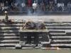 Kathmandu, świątynia Pashupatinath, stos do palenia zwłok.