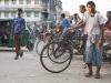 Chittagong, Saderghat i stary Chittagong. Rykszarze.