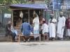 Chittagong, Saderghat i stary Chittagong. Street life.