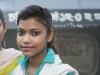 Chittagong, Saderghat i stary Chittagong. Młoda dziewczyna, którą wielokrotnymi prośbami zbałamuciłem do pozowania.