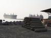 Chittagong, ship breaking yards.