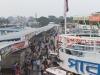 Barisal. Statek do Dhaki, widok z górnego pokładu.