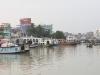 Widoki z nabrzeża w Barisal. River life.