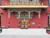 Kathmandu, Boudha, klasztor Shechen.