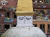 Kathmandu, Boudha, stupa Bodnath.
