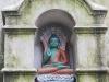 Kathmandu, Swayambhu, figura Buddy chronionego przez kobry.