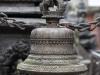 Kathmandu, Swayambhu, dzwon.