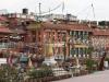 Kathmandu, Boudha, widok ze stupy Bodnath.