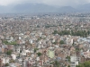 Kathmandu, Swayambhu, widok na miasto.