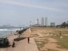 Centrum Colombo z Galle Face Green.