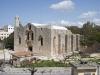 Katedra w Tartus - widok z okna hostelu.