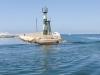 Główki portu na wyspie Arwad