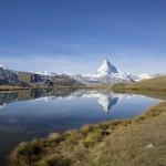 Matterhorn - w drodze na przełęcz Flugwe.